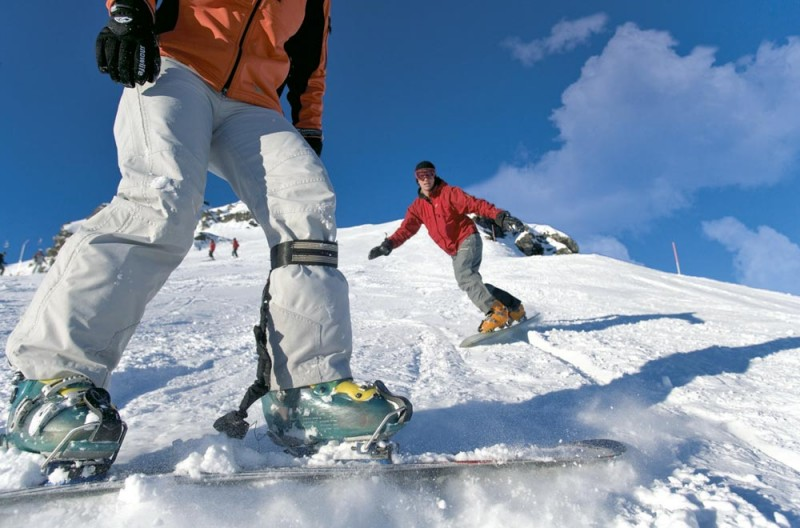 Privatunterricht Snowboard Familie